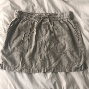 Linen High Waisted Skirt